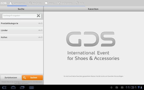GDS App - screenshot thumbnail