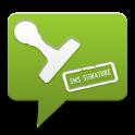 SMS Signature Pro