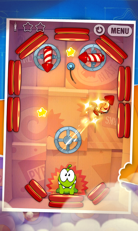 Cut the Rope: Experiments - screenshot