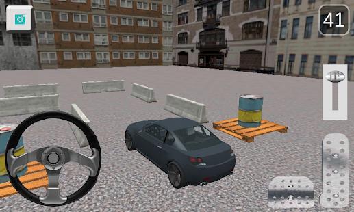 Sport Car Parking screenshot