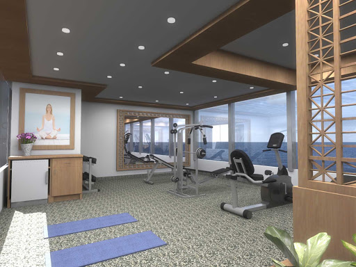 Silver_Explorer_Fitness_Center - The Fitness Center on board Silver Explorer features a treadmill, elliptical trainer, stationary bike and a weight machine. It's open every day.