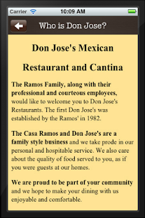 Don Jose's - screenshot thumbnail
