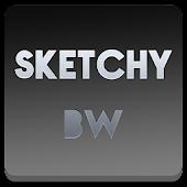 Sketchy B&W Apex Nova ADW Holo