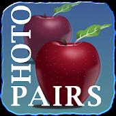 PhotoPairs. Memory game.