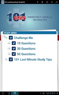101 Last Min Study Tips (EMT)- screenshot thumbnail
