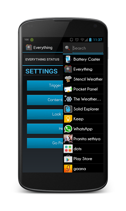 Everything -The Quick Launcher- screenshot