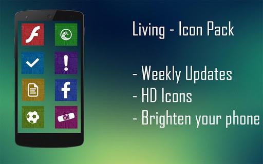 【免費個人化App】Living - Icon Pack-APP點子