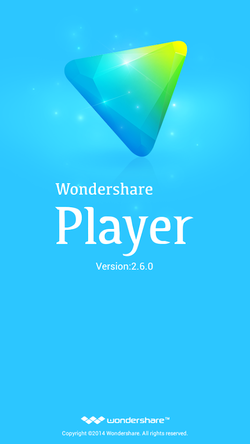 Wondershare Player: captura de pantalla
