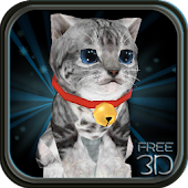 Fluffy Cat Pet 3D HD - free