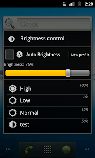 Another Brightness Profile- screenshot thumbnail