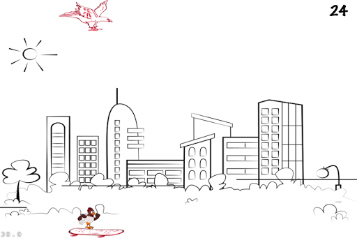 A Doodle Nitro Chicken Escape