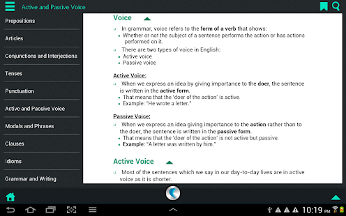 English Grammar - screenshot thumbnail