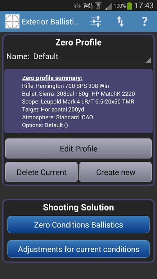 Movie shooter ballistics