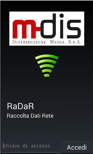 RaDaR – Raccolta Dati Rete