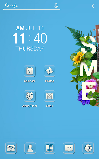 Summer time Atom Theme
