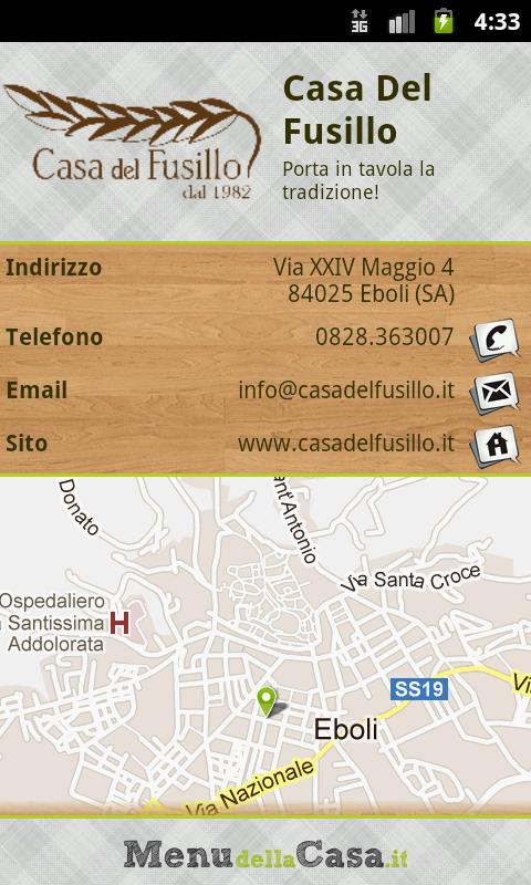 Casa del Fusillo - screenshot
