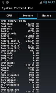 System Control Free- screenshot thumbnail