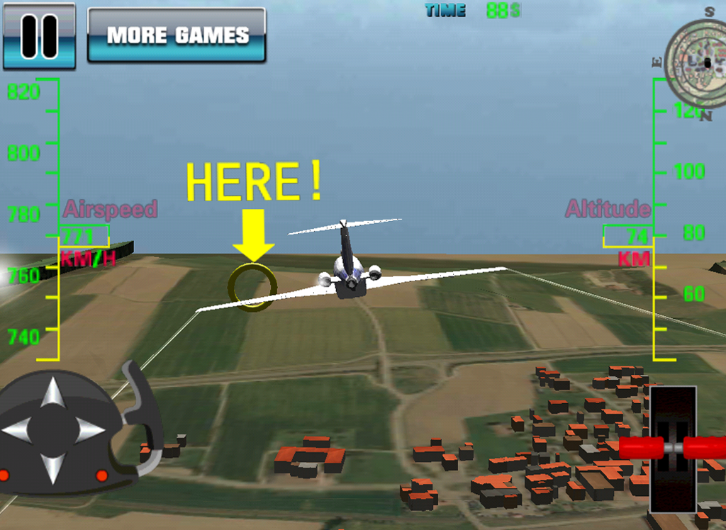 Simulateur De Vol 3d Avion Applications Android Sur