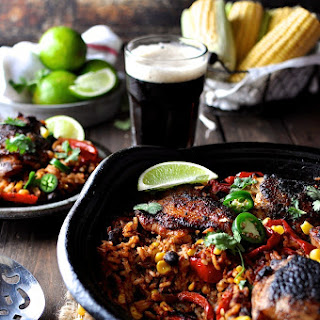 One Pot Mexican Chicken and Rice Recipe