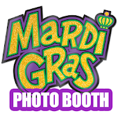 Mardi Gras Photo Booth Fat Tue