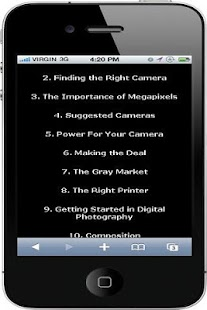 Digital Photography Tutorials - screenshot thumbnail
