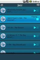 Screenshot of Streamdroid Radio