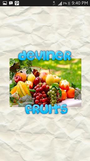Deviner Ces Noms de Fruits