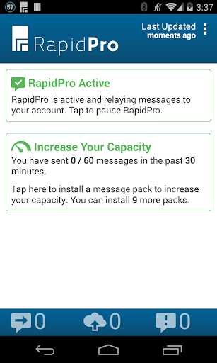 RapidPro - SMS Channel
