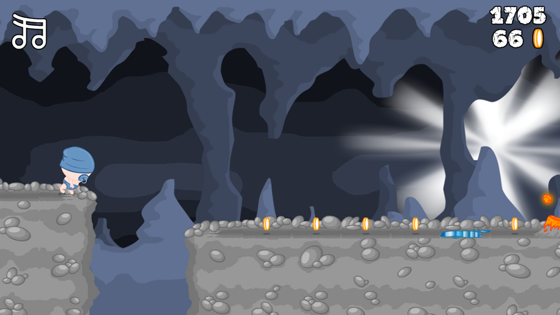 Babies Cave Run - screenshot