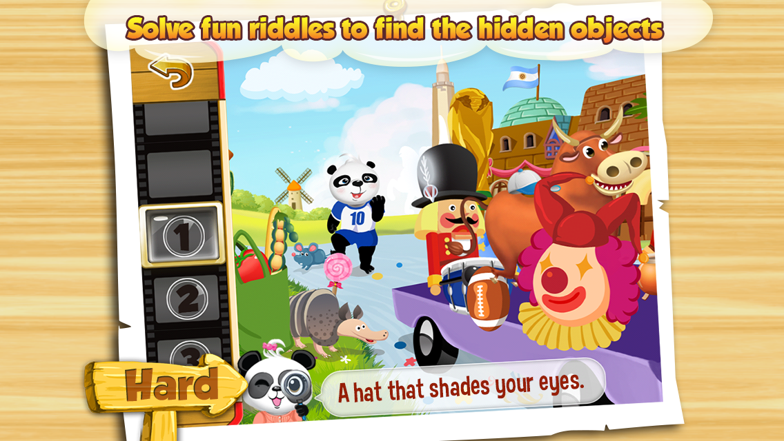 I Spy With Lola: Fun Word Game- screenshot