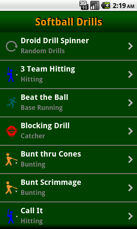 Softball Coaching Drills- screenshot