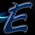 Alphabet Letter E Sticker icon