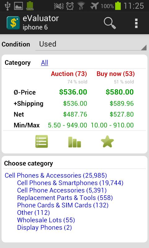 What's it worth on eBay? - screenshot