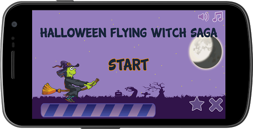 Halloween Flying Witch Saga