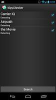 Screenshot of tSpyChecker