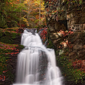 ...Resov small waterfall... by Pavel Olivík - Landscapes Waterscapes