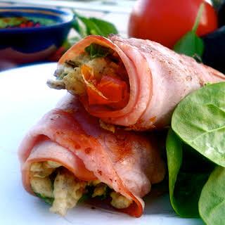Paleo Breakfast Burrito.