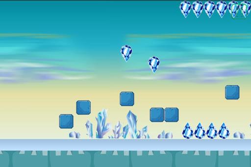 Ice Dash - Hard Jump