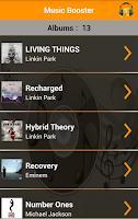 Screenshot of Music Booster