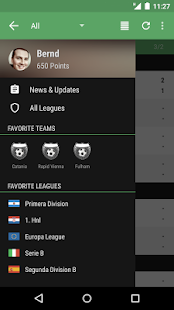 The Soccer Livescore App - screenshot thumbnail