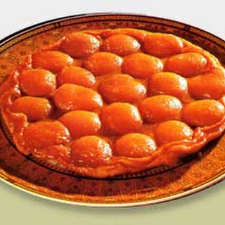 Upside-Down Caramelized Apricot Tart.