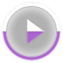 Skin for Poweramp KKPurple icon