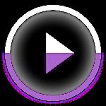 Poweramp skin KK/JB/ICS Purple v1.3.2