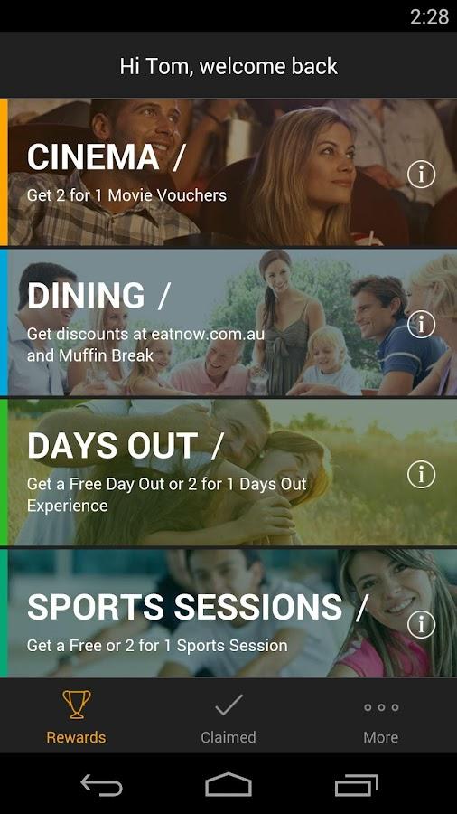 Conti Rewards - screenshot
