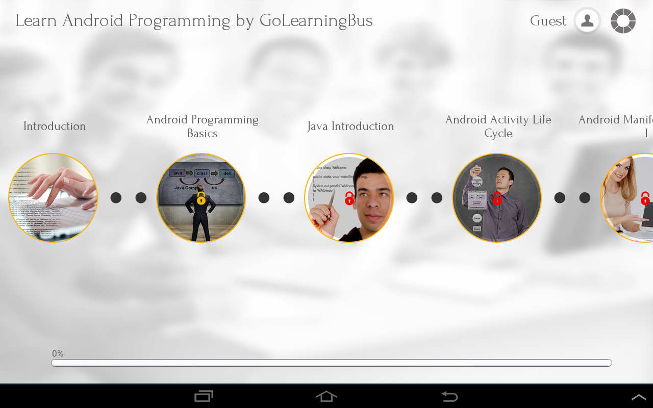 Learn Android Programming - screenshot