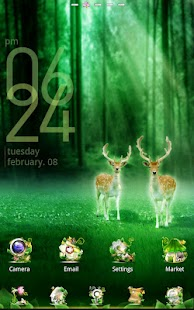Forest GO LauncherEX Theme- screenshot thumbnail