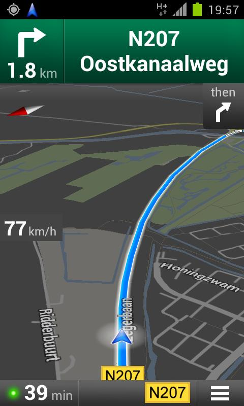 Maps Speedometer - screenshot