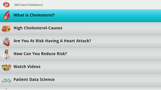 Cholesterol Guide- screenshot thumbnail