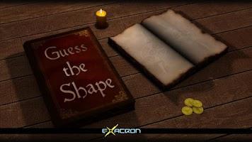 Screenshot of Guess the shape Donate