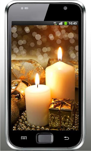 New Year Candle n Bells LWP